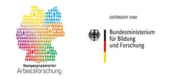 Logos Kompetenzzentren Arbeitsforschung & Bundesministerium für Bildung und Forschung